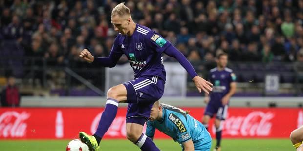 Teodorczyk libère un Anderlecht poussif contre Lokeren (3-2) - La Libre