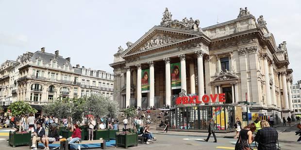 Les quatre défis du piétonnier à Bruxelles - La Libre