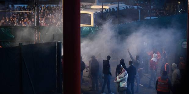 """Le Standard condamne les incidents provoqués par """"une minorité d'imbéciles"""" - La Libre"""