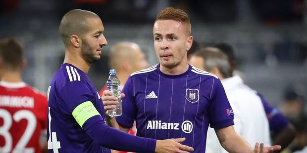 Ligue des Champions: réduit à 10, Anderlecht ne peut rien face au Bayern (3-0) - La Libre