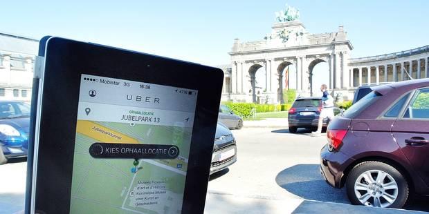 Des licences Uber retirées illégalement - La Libre