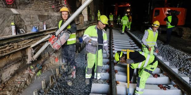 Bruxelles: voici ce que va coûter à Infrabel la rupture de canalisation à St Josse - La Libre