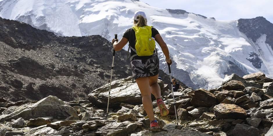 Le Mont-Blanc rétrécit