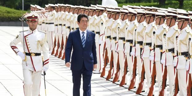 """Shinzo Abe: Le Japon """"ne tolérera jamais les provocations"""" de la Corée du Nord - La Libre"""