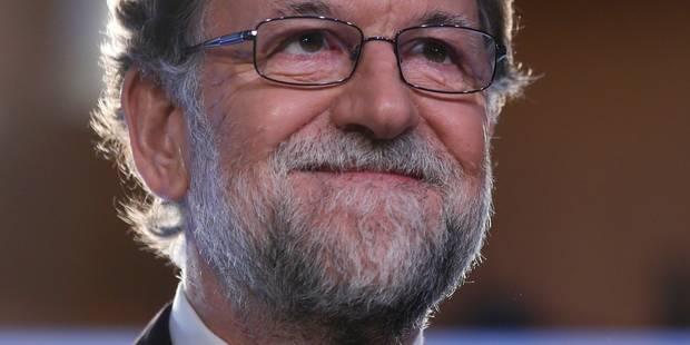 Rajoy contre-attaque par la voie légale et vise le portefeuille - La Libre