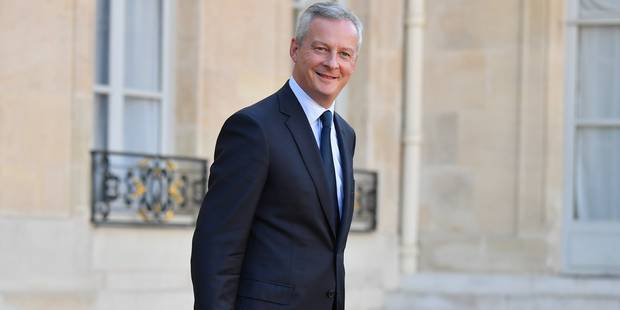 La France abaisse sa prévision de déficit à 2,9% du PIB en 2017 et 2,6% en 2018 - La Libre