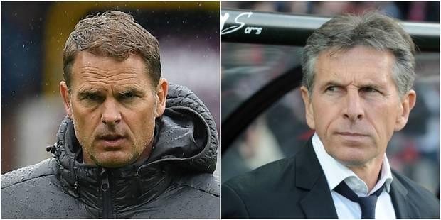 Anderlecht : Frank De Boer et Claude Puel ont envoyé leur CV - La Libre