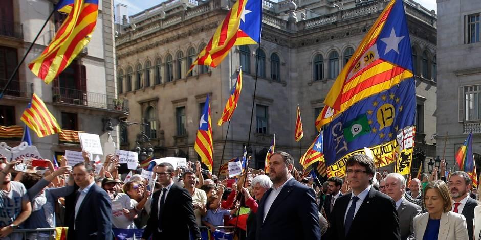 Référendum en Catalogne: le bras-droit du vice-président catalan arrêté