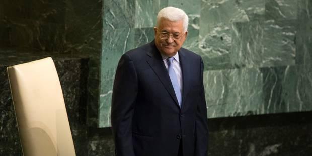 """Abbas à l'ONU demande la fin de """"l'apartheid"""" imposé par Israël aux Palestiniens - La Libre"""