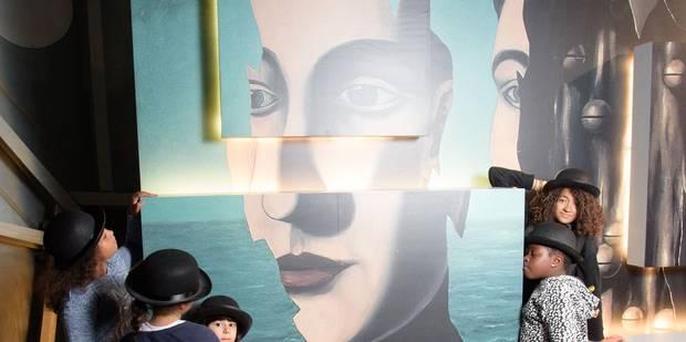 Exposition ludique et grand public à l'Atomium: Magritte inspira les Beatles et Apple - La Libre