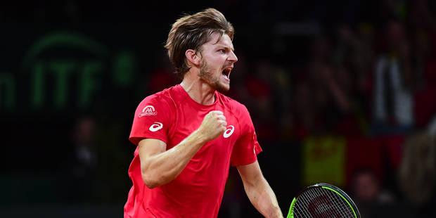 Goffin cède une manche à Nicolas Almagro mais rejoint les quarts de finale du tournoi ATP de Metz - La Libre