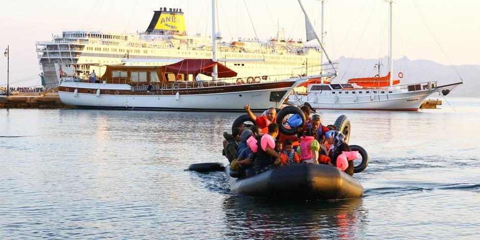 Turquie: 4 morts, jusqu'à 20 disparus, dans le naufrage d'un bateau de migrants