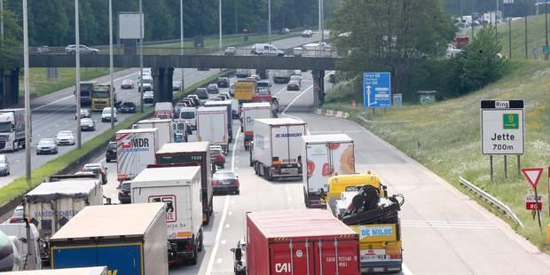 Quatre voitures accidentées à Diegem: de longues files sur le ring intérieur - La Libre