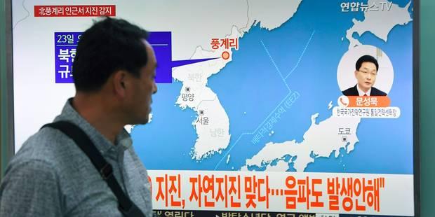 """Un séisme possiblement dû à une """"explosion"""" enregistré en Corée du Nord - La Libre"""