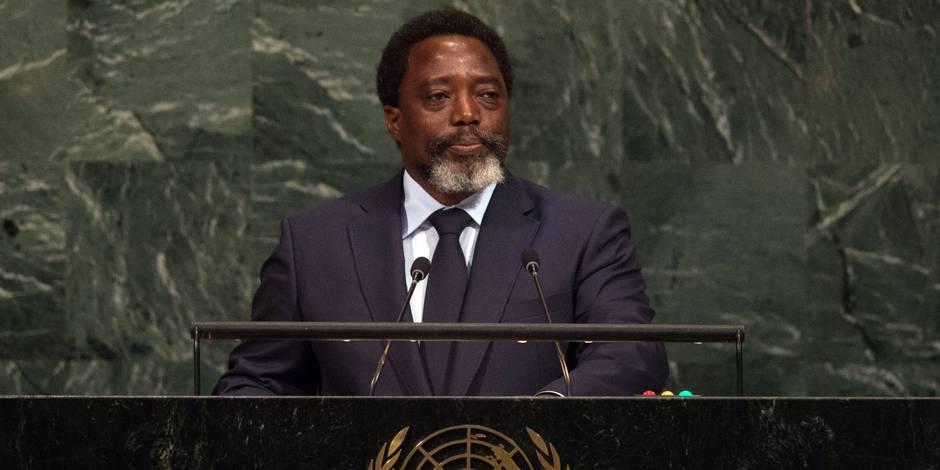 """RDC: Kabila confirme la marche """"irréversible"""" vers des élections"""