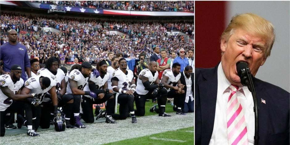 Diplomatie pour les nuls: Trump, un président à la buvette de terrain de foot - La Libre