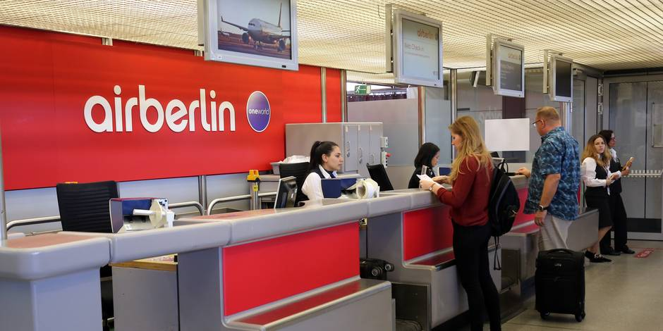 Air Berlin valide le principe de son rachat par Lufthansa et Easy Jet