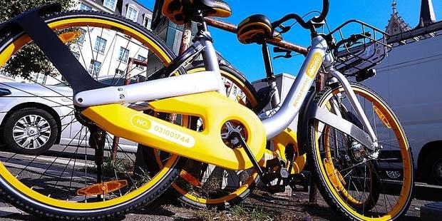 Les vélos partagés débarquent en force à Bruxelles - La Libre
