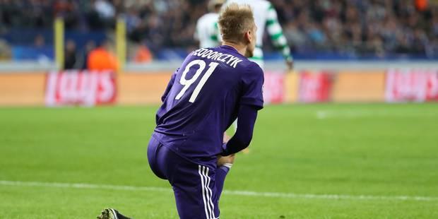 """Anderlecht s'effondre dans le """"match à ne pas perdre"""" contre le Celtic (0-3) - La Libre"""