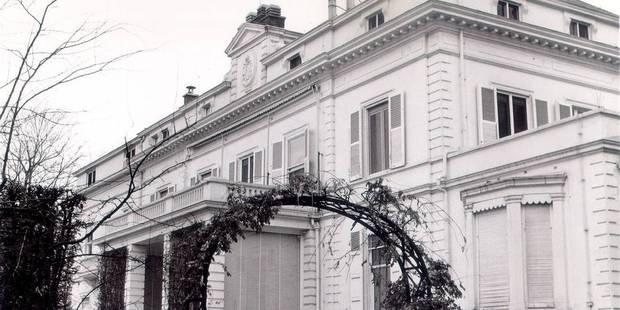 Le château du Stuyvenberg sera occupé par Michèle Sioen et Marnix Galle - La Libre