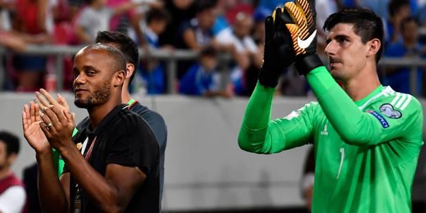 """Pep Guardiola: """"Vincent Kompany ne jouera pas avec la Belgique"""" - La Libre"""