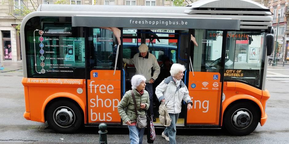 Bruxelles a roule pour les shopping bus la libre - Offre d emploi femme de chambre bruxelles ...