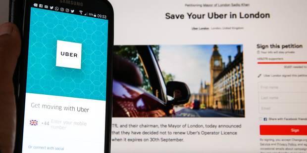 La responsable d'Uber pour l'Europe du Nord démissionne en plein scandale londonien - La Libre