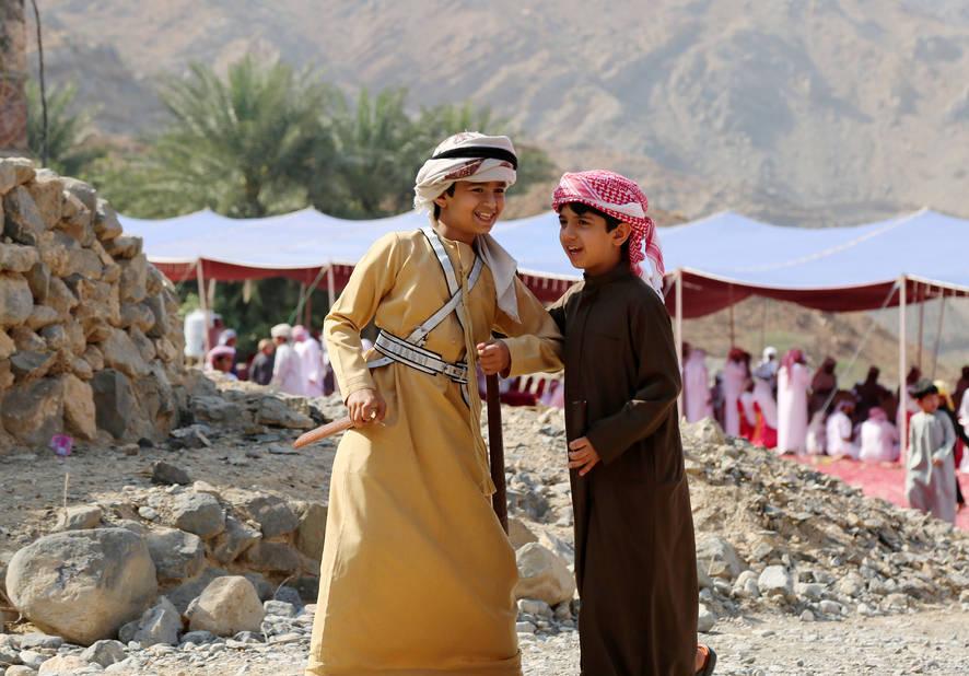 Les habitants de Ras Al Khaimah sont très désireux de faire conaître leur pays et leurs traditions