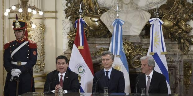 L'Argentine, l'Uruguay et le Paraguay officiellement candidats à l'organisation du Mondial 2030 - La Libre