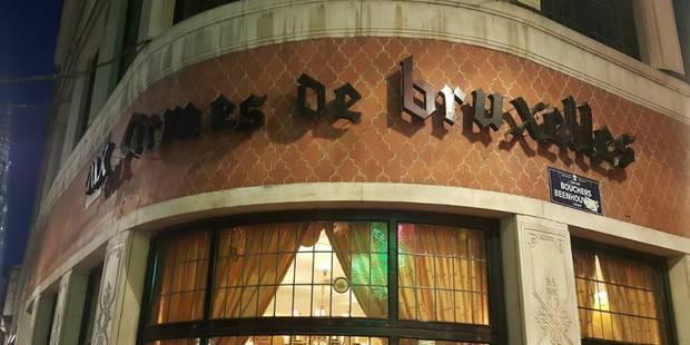 Grève du personnel au restaurant bruxellois Aux Armes de Bruxelles - La Libre