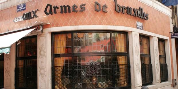 Le travail a repris au restaurant Aux Armes de Bruxelles - La Libre