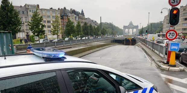 Bruxelles: les tunnels Cinquantenaire et Loi rouverts à la circulation - La Libre