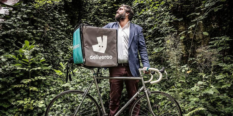 Mathieu de Lophem, general manager de Deliveroo, va désormais rouler pour le Benelux (RENCONTRE) - La Libre