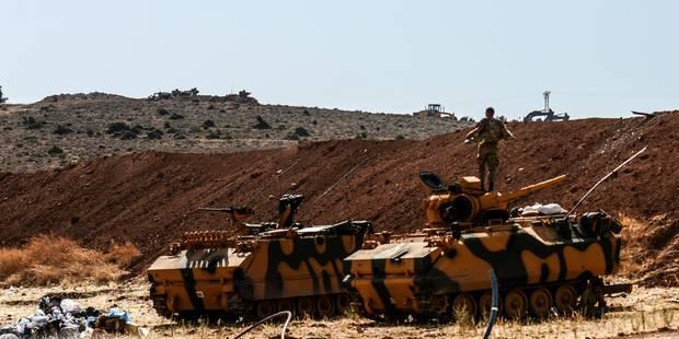 Echanges de tirs à la frontière dans l'attente d'une incursion turque en Syrie - La Libre