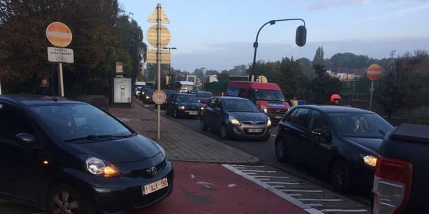 Viaduc Herrmann-Debroux: plus de 30min de rallongement de temps de parcours depuis Beaulieu (DIRECT) - La Libre