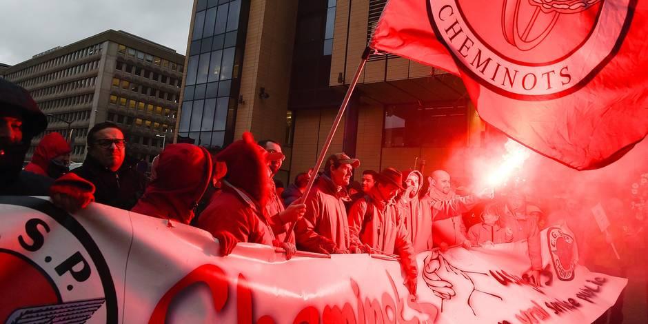 Les 5 raisons pour lesquelles la CGSP fait grève ce mardi - La Libre