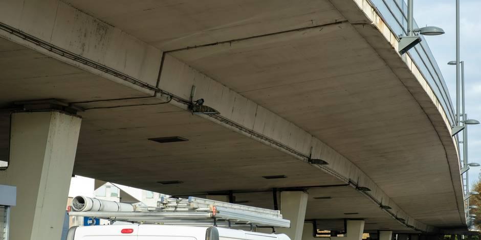 Fermeture du viaduc Herrmann-Debroux : les automobilistes boudent les alternatives mises en place