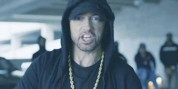 Eminem revient et gifle Trump - La Libre