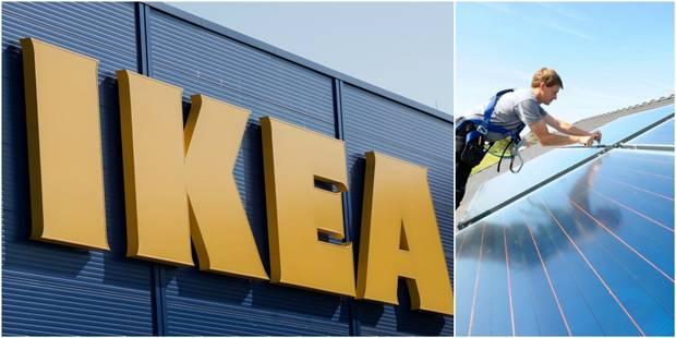 Ikea se lance dans la vente de panneaux solaires en Belgique - La Libre