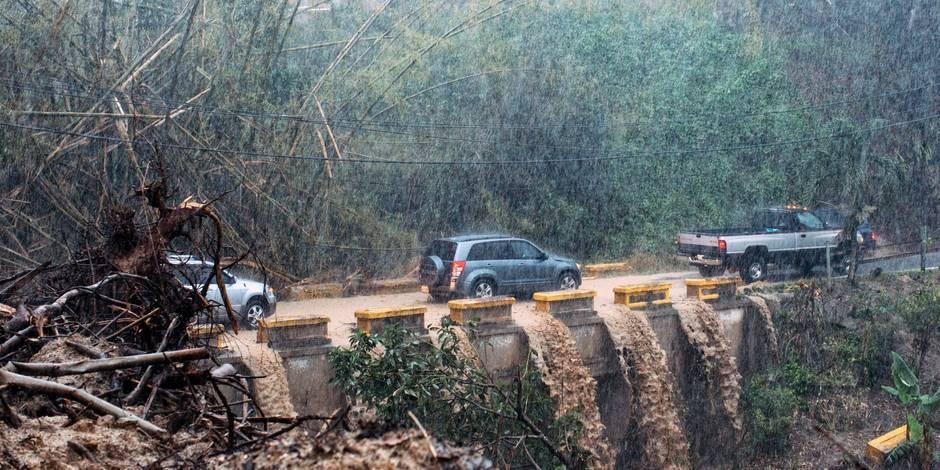 Ouragan Maria: Donald Trump met Porto Rico sur la sellette