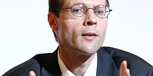 Olivier De Schutter , juriste belge, professeur de droit international à l' UCL et rapporteur spécial pour le droit à l' alimentation du Conseil des droits de lÕhomme de l ONU