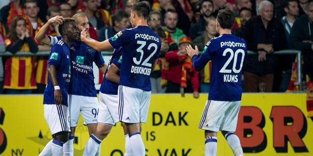Anderlecht s'impose à Malines pour la première de Vanhaezebrouck (3-4) - La Libre