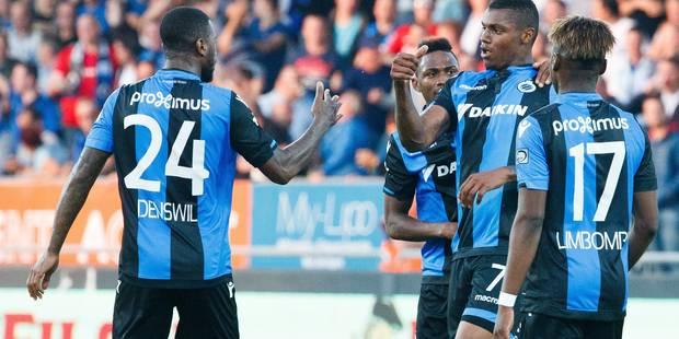 Bruges s'impose en fin de match à Ostende, l'Antwerp dans le top 3 - La Libre