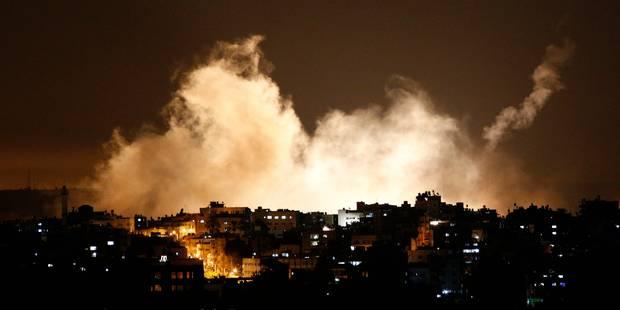 L'armée israélienne annonce des tirs de roquette en provenance d'Israël - La Libre
