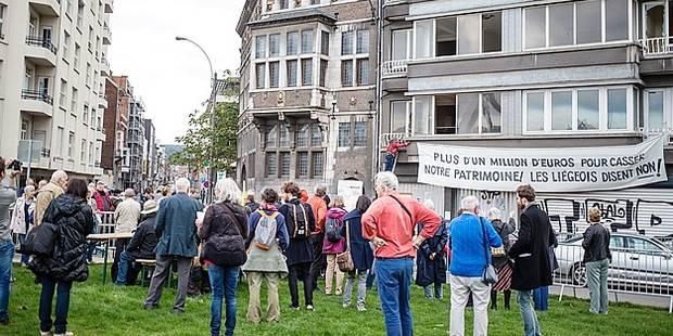 Liège : ils luttent pour sauver la maison Rigo - La Libre