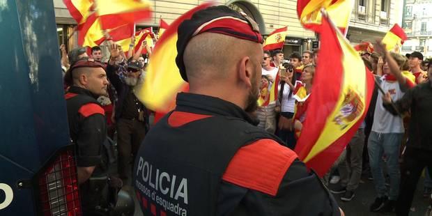 La police catalane entre indépendance et loyauté - La Libre