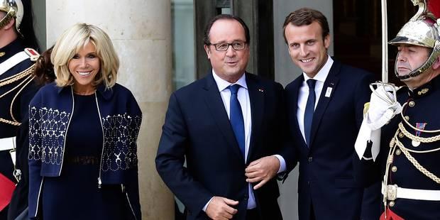 France: règlement de comptes entre Macron et son prédécesseur socialiste François Hollande - La Libre