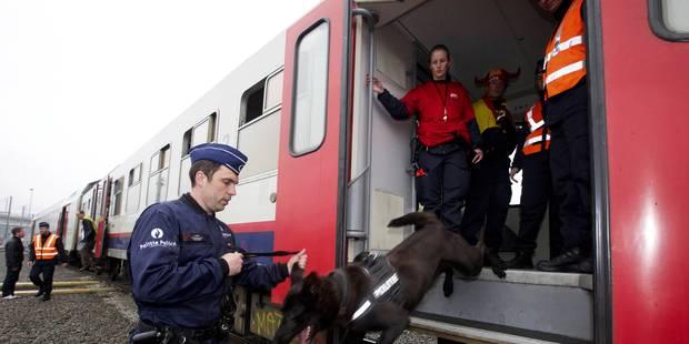 La police des chemins de fer dépose un préavis de grève du 1er décembre au 2 janvier - La Libre