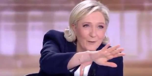 """""""Ils sont là, dans les campagnes, dans les villes"""": Marine Le Pen revient sur son comportement lors du débat face à Macr..."""