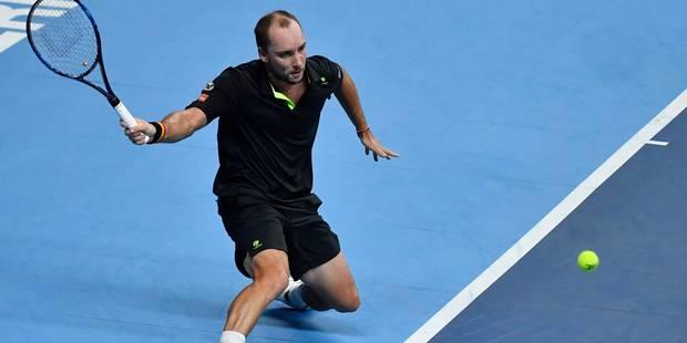 Steve Darcis, blessé au coude, prend deux semaines de repos avant la finale de la Coupe Davis - La Libre